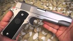 Colt 1911 Government Model Stainless 45ACP Semi Auto Pistol Overview - Texas Gun Blog