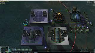 Supreme Commander 4K - The Ditch against 2 Sorian AI