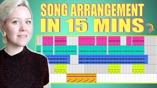Uncut: Creating Song Arrangement In 15 mins • Ableton Live 11