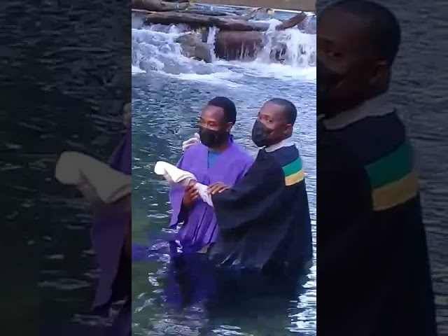 Baptiser: Pastor Charvone Clarke. Orane Mitchell baptised in 2021.