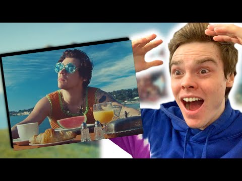 WATERMELON SUGAR Music Video - Reaction and MISSED DETAILS!