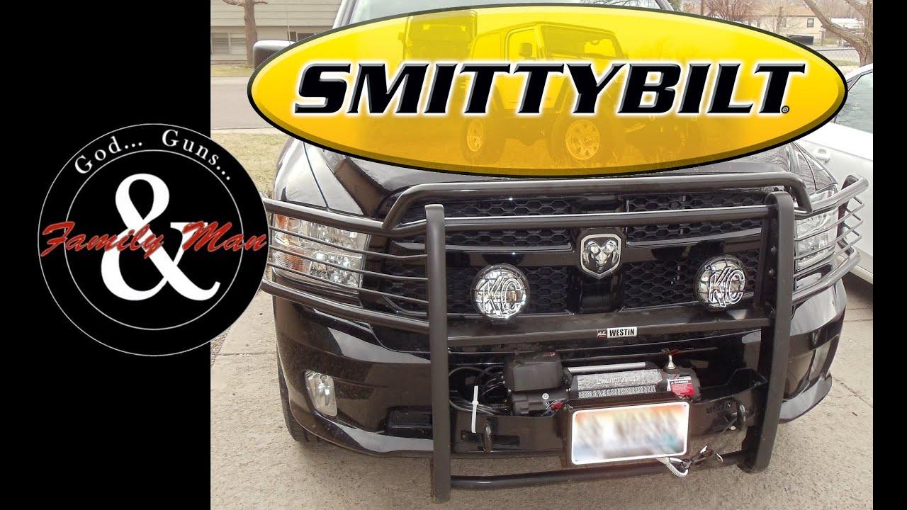 Ram 1500 Bumper >> Installing a Smittybilt Winch on RAM 1500 - YouTube