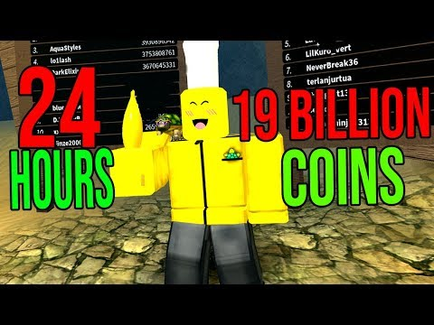 DIGGING FOR 24 HOURS WITH The GOLDEN NUKE! (Roblox Treasure Hunting Simulator)