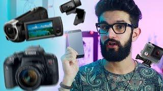 Qual a melhor câmera pra gravar vídeos? (e como escolher a perfeita para você)