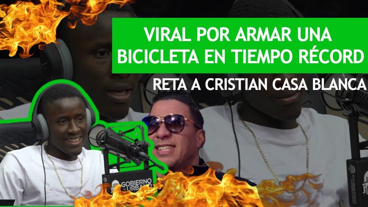 Download SIGAN VIENDO: VIRAL POR ARMAR UNA BICICLETA EN TIEMPO RECORD | RETA A CRISTIAN CASA BLANCA