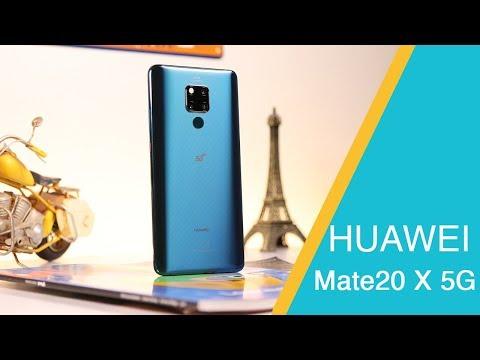 استعراض هاتف هواوي Mate20 X 5G وتجربة سرعة اتصال شبكات الجيل الخامس بالسعودية