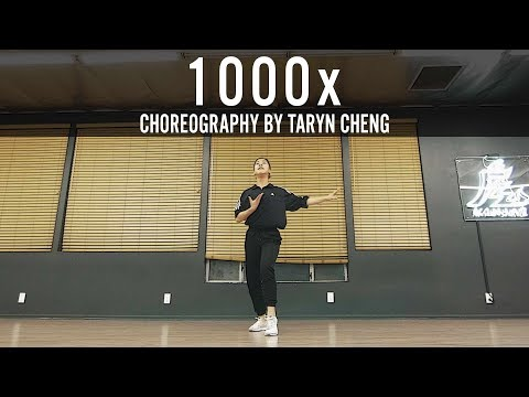 """Jarryd James Feat. Broods """"1000x"""" Choreography By Taryn Cheng"""