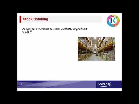 Young Enterprise Scotland - Cash, Stock, Report Webinar