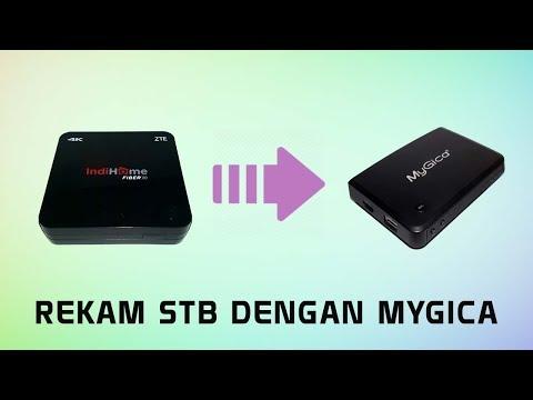 Tutorial Rekam STB (Set Top Box) Indihome dengan MyGica HD Capture