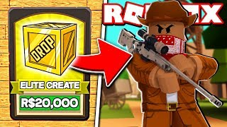 BUYING THE BEST GUNS IN ROBLOX BANDIT SIMULATOR