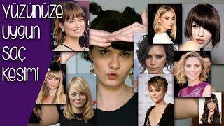 Yüzü büyük olanlar için saç modelleri kadın