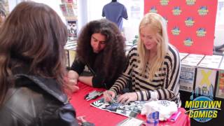 Translucid #1 Signing with Claudio Sanchez and Chondra Echert