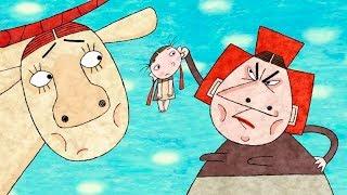 Крошечка-Хаврошечка | Русская сказка | мультк для детей | Kroshechka Khavroshechka