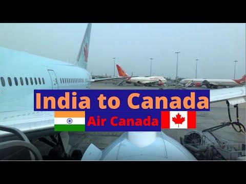 Air Canada 45| ECONOMY| New Delhi (DEL) - Vancouver (YVR)| B789