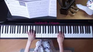 使用楽譜;月刊ピアノ2017年11月号、 難易度・中級(採譜者;渋谷絵梨香...