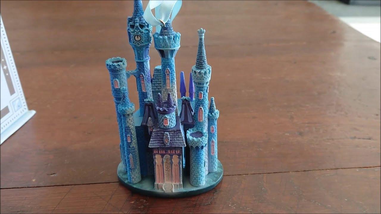 Disney Castle Collection 1 10 Cinderella Castle Ornament Unboxing Youtube