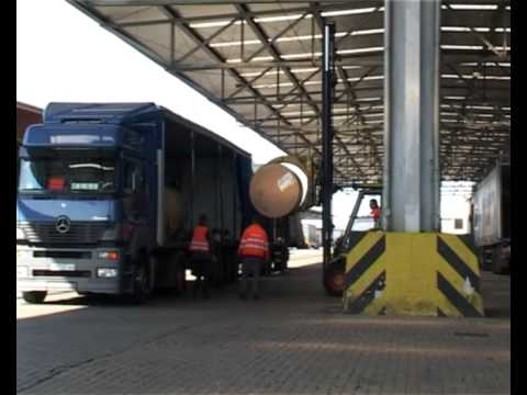 Forklift operation in the warehouse area, general cargo - Northern Maritime University