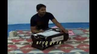 Lesson: Ahir Bhairav - 0 - Alankar (with subtitles)
