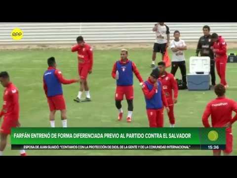 Selección Peruana: Jefferson Farfán se retiró de entrenamiento por fatiga muscular