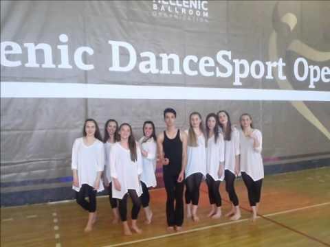 HELLENIC DANCE SPORT OPEN 2016 IFANTI PARASKEVI