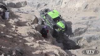 Textron Wildcat XX coming down Backdoor during 2018 King of the Hammers UTV Race