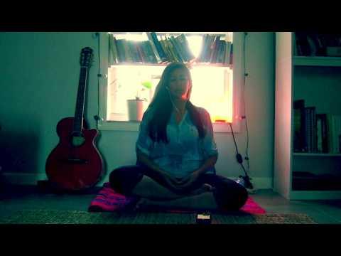 Meditação Guiada Fácil e maravilhosa, voz feminina! Transcendental com neurobits