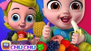Yes Yes Fruits Song  - ChuChu TV Nursery Rhymes & Kids Songs