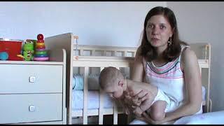 Нужен ли маятник на детской кроватке? Наш сон в 5 месяцев.