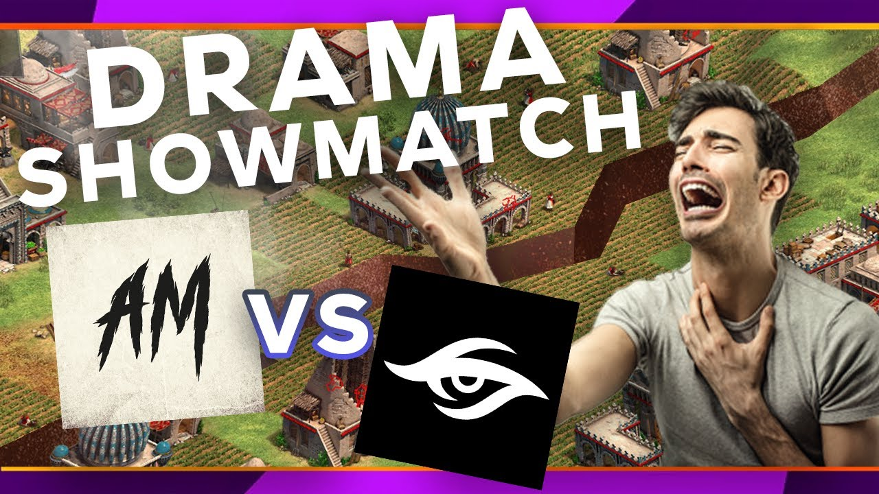 Secret vs aM Showmatch   THE DRAMA IS REAL on 1st TG EVENT