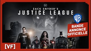 Bande annonce Zack Snyder's Justice League