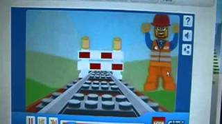 lego trouble on tracks