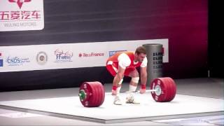 Klokov vs. Akkayev - 2011 Senior World Champs (Clean & Jerks)