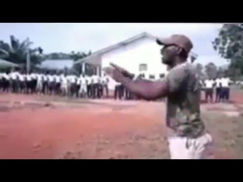 Ghana Military Recruits Wahala- It's No Joke