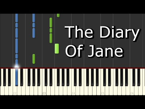 [Breaking Benjamin - The Diary Of Jane] Piano Tutorial
