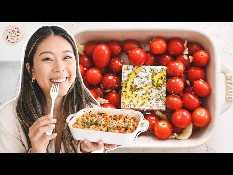 How to Make Baked Feta Pasta (Vegan!) | Viral TikTok Recipe