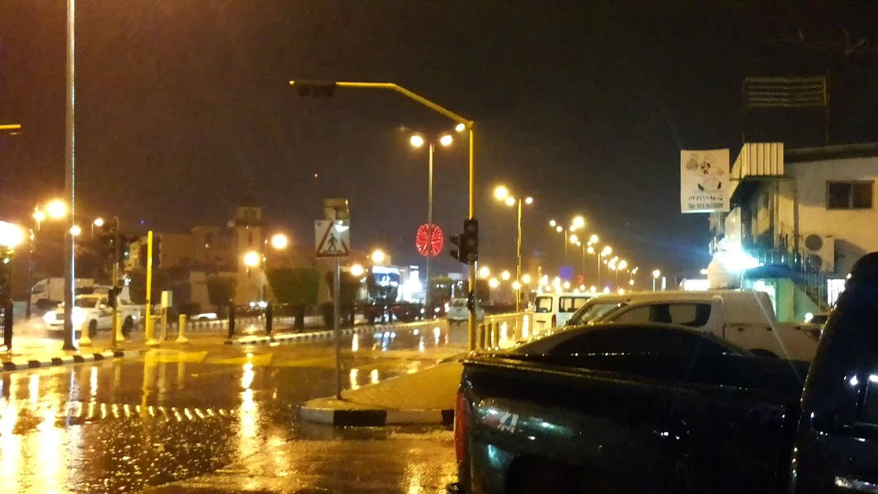 Rain In Abqaiq Youtube