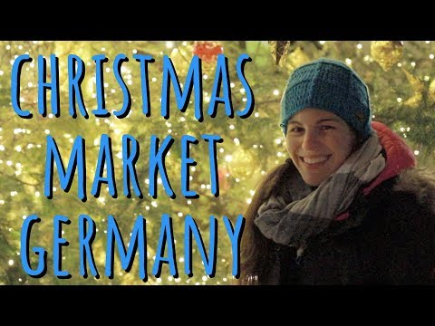 Beautiful German Christmas Market in a Castle