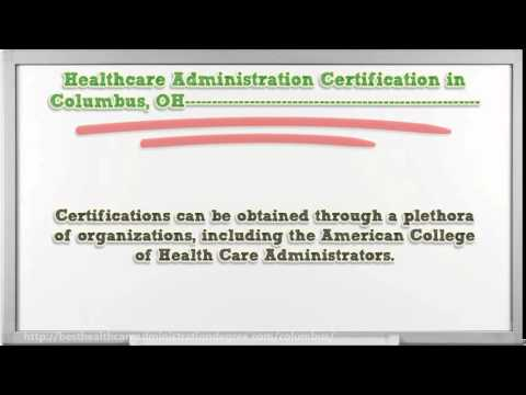 Healthcare Administration Degree in Columbus OH - YouTube