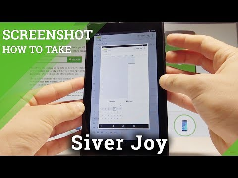 How to Take Screenshot on Siver Joy - Capture Screen |HardReset.Info