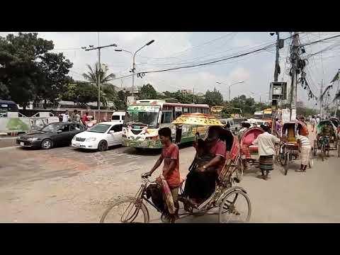 Street View | Nuton Bazar | Dhaka City | Travel Video | Tourism  Dhaka | Beautiful Dhaka Bangladesh