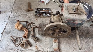 Restoration and start up / yanmar TS50 for 30years without running