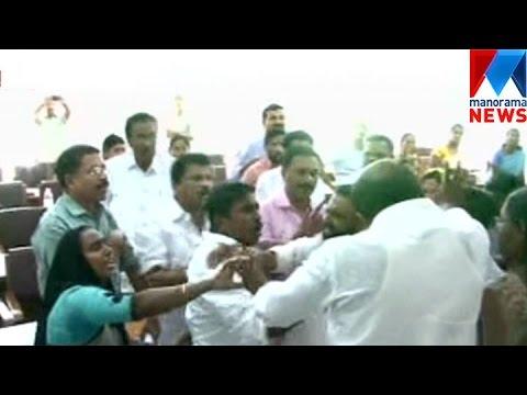 Ldf Udf Fight In Kayamkulam Municipality   Manorama News