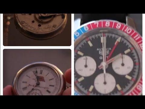 Uhren Passion - Eine 1890´er Taschenuhr Und Ein Autavia Chrono