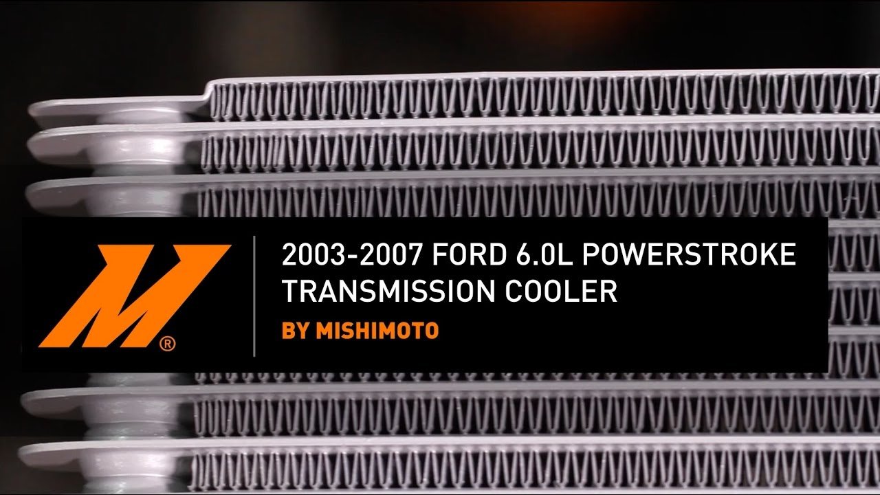 hight resolution of 2003 2007 ford 6 0l powerstroke transmission cooler installation guide by mishimoto