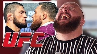 KHABIB vs McGREGOR - Press Conference Reaction