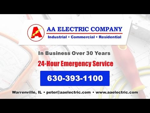 AA Electric Company | Warrenville IL Commercial, Industrial and Residential Electrical Contractors