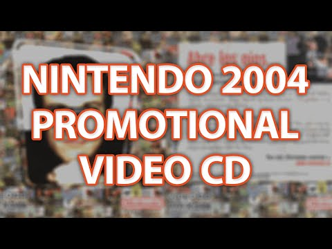 "Nintendo 2004 ""Abre los ojos"" (Open your eyes) promotional VCD"