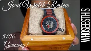 Jord Watch Review and CONTEST! (CLOSED)