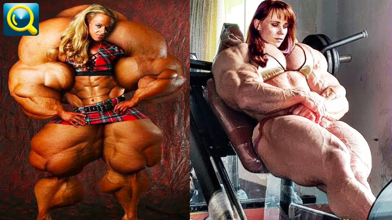 Free white muscle women movie
