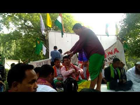 Pramod Boro Want Bodoland Statellpresident,absullin New Delhi